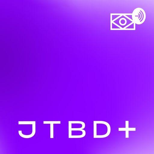 Cover art for podcast JTBD+   Jobs to be done, Produto e UX
