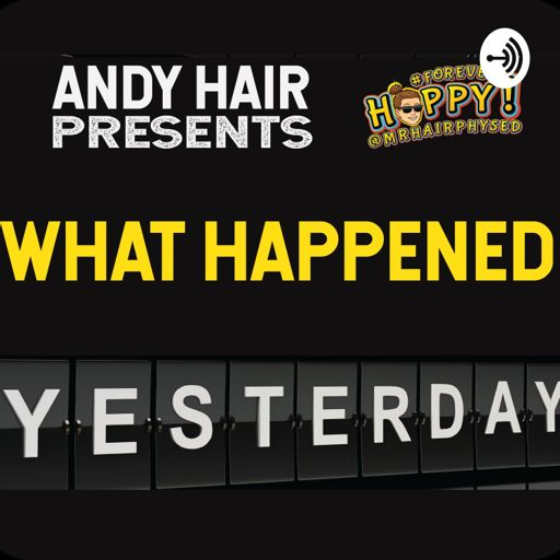 Cover art for podcast What happened yesterday?