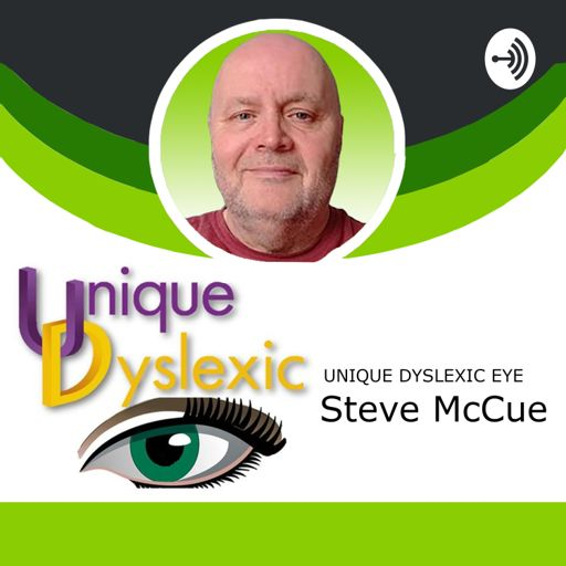 Cover art for podcast Unique Dyslexic Eye