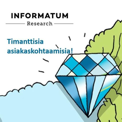 Cover art for podcast Timanttisia asiakaskohtaamisia