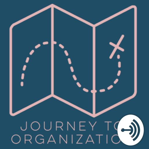 Cover art for podcast Journey to Organization with Rebekah Saltzman