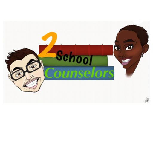 Cover art for podcast 2 School Counselors