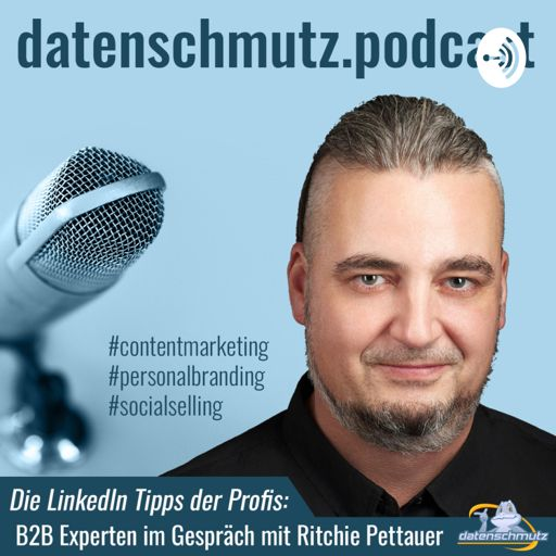 Cover art for podcast LinkedIn Podcast mit Ritchie Pettauer 🌀 Content-Strategie 🌐 Social Selling 🌐 Personal Branding