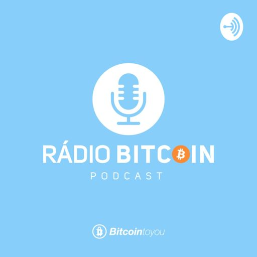 Cover art for podcast Rádio Bitcoin