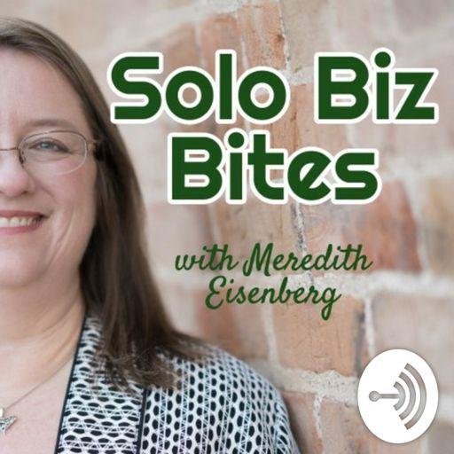 Cover art for podcast Solo Biz Bites