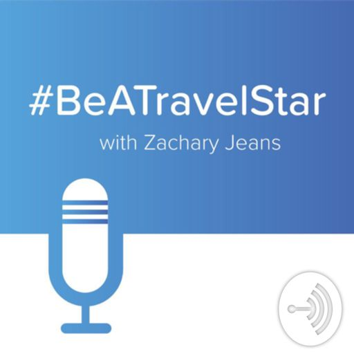 Cover art for podcast #BeATravelStar with Zachary Jeans