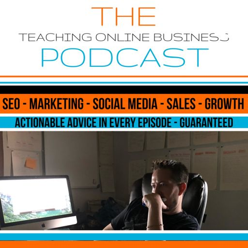 Cover art for podcast Teaching Online Business Podcast