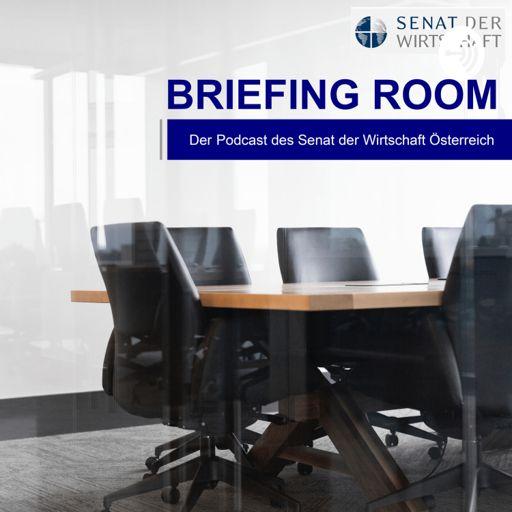 Cover art for podcast Briefing Room |Podcast des Senat der Wirtschaft Österreich