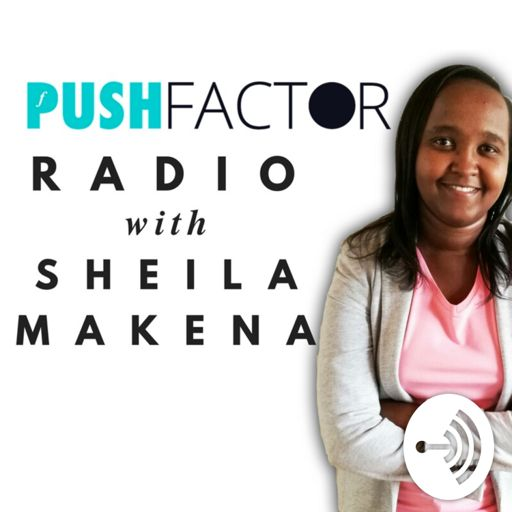 Cover art for podcast Push Factor Radio With Sheila Makena