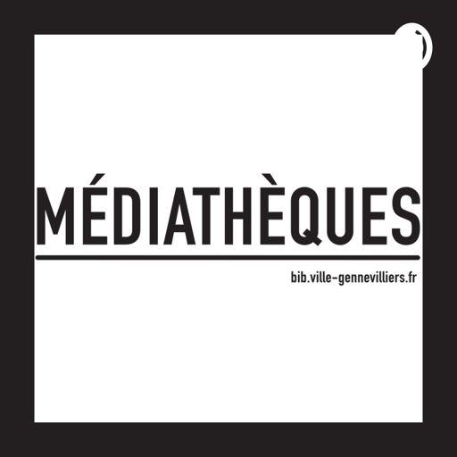 Cover art for podcast Médiathèques de Gennevilliers