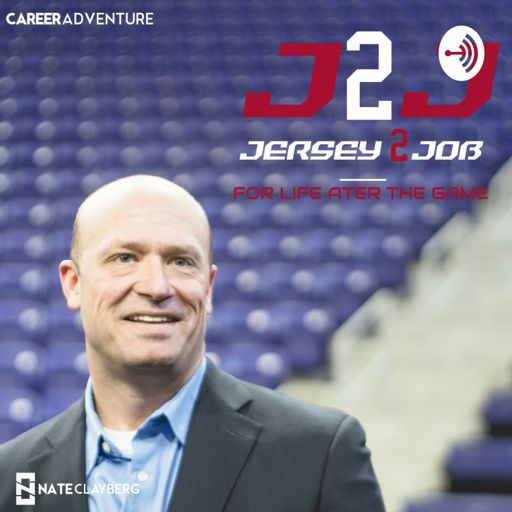 Cover art for podcast Jersey2Job, a CareerAdventure Podcast for Athletes