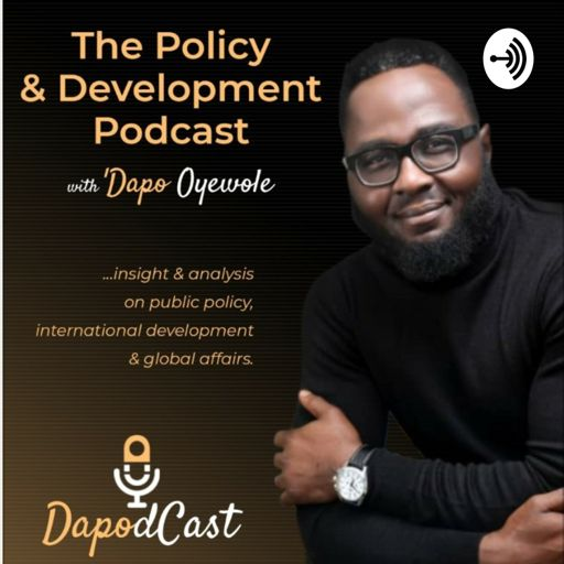 Cover art for podcast DaPodCast - The Policy & Development Podcast