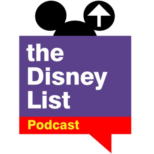 Cover art for podcast The Disney List Podcast
