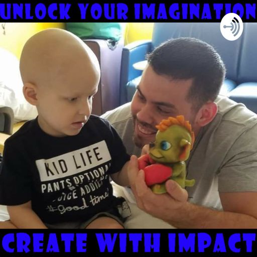 Cover art for podcast Unlock your Imagination and Create with Impact!