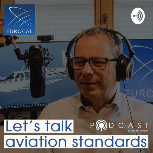 Cover art for podcast EUROCAE - Let´s talk aviation standards