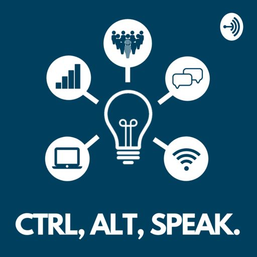 Cover art for podcast Ctrl, Alt, Speak.
