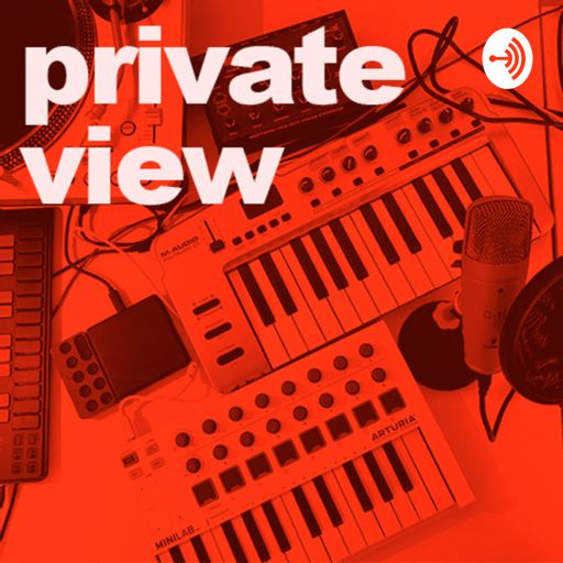 Cover art for podcast Private View by Raw and Radical - bi-monthly diaries on getting real about being a woman in the arts