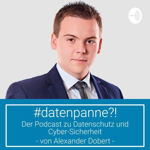 Cover art for podcast #datenpanne?! - Der Podcast zu Datenschutz und Cyber-Sicherheit