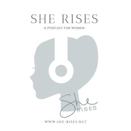 Cover art for podcast She Rises podcast