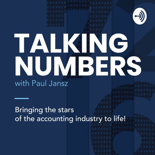 Cover art for podcast Talking Numbers with Paul Jansz