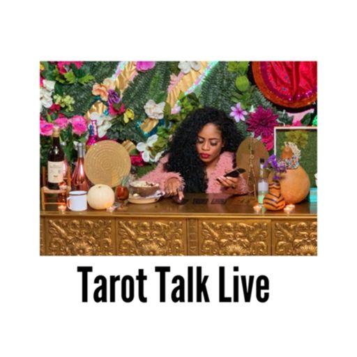 Cover art for podcast Tarot talk live