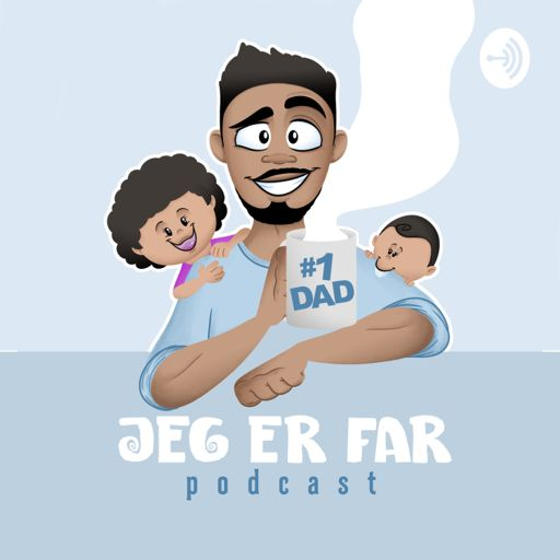Cover art for podcast Jeg er far - Podcast