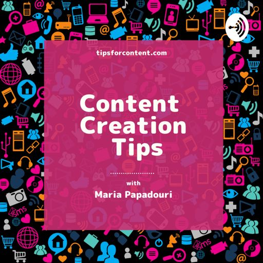 Cover art for podcast Content Creation Tips