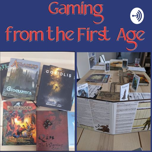 Cover art for podcast Gaming from the First Age