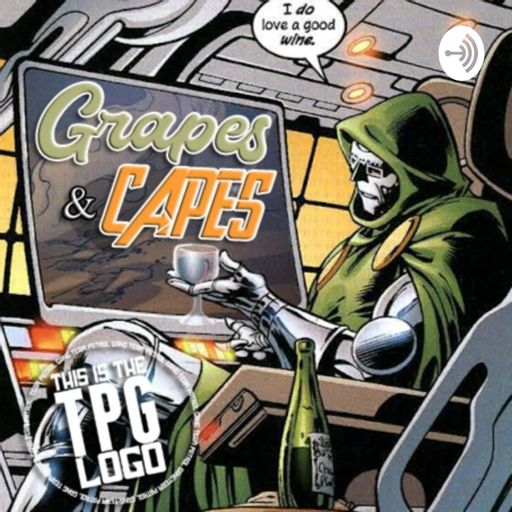 Cover art for podcast Grapes & Capes