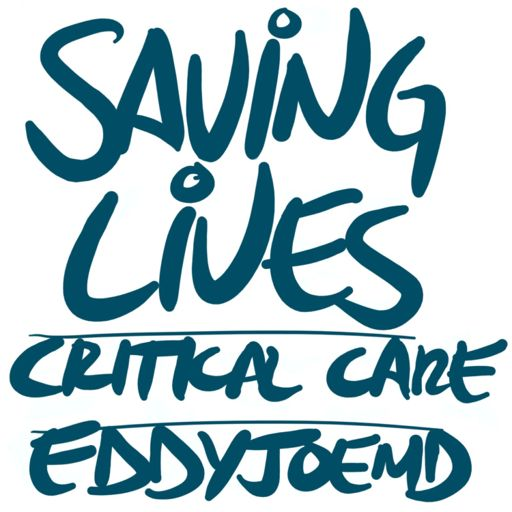 Cover art for podcast Saving Lives: Critical Care w/eddyjoemd