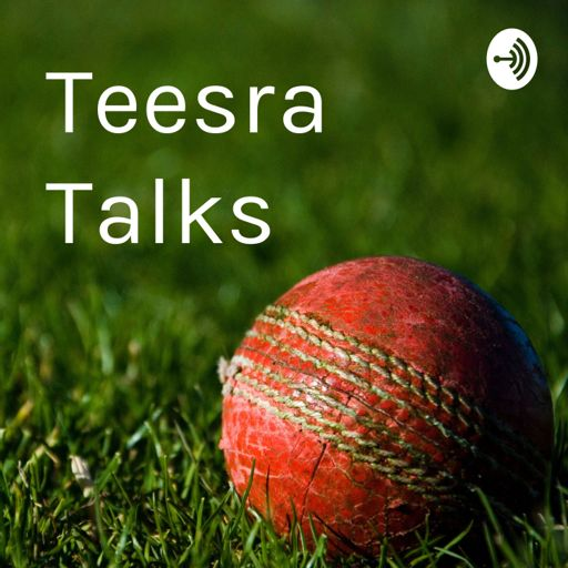 Cover art for podcast Teesra Talks — occasional thoughts on cricket coaching