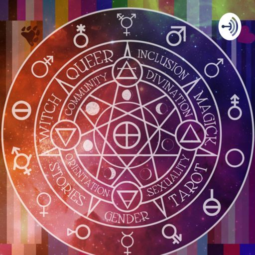 Cover art for podcast Queer Spirituality and Tarot: Exploring queerness and self love through our stories.