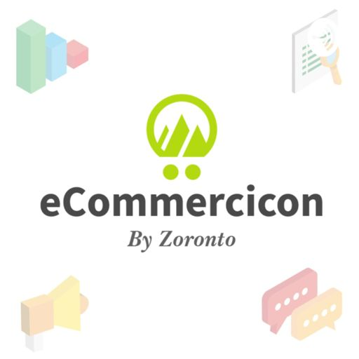 Cover art for podcast eCommercicon | eCommerce Marketing & Sales Podcast