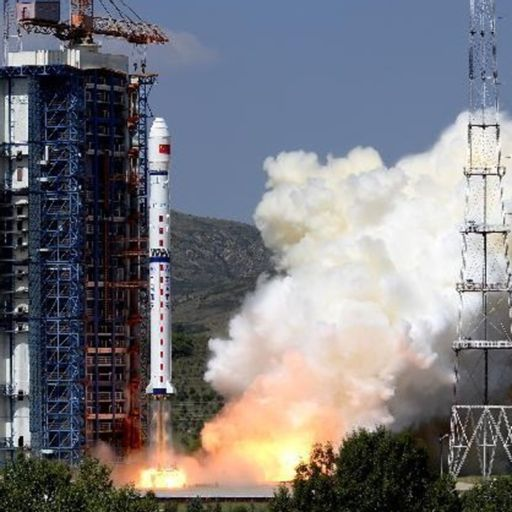 China's lunar communication satellite blasts towards moon from SPACE
