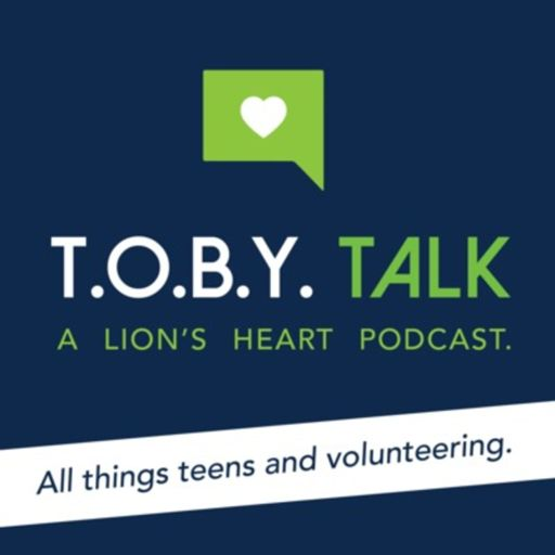 Cover art for podcast TOBY Talk: All Things Teens and Volunteering