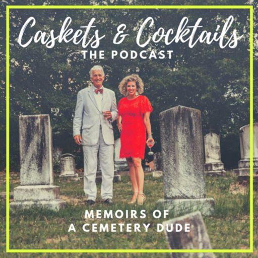 Cover art for podcast Caskets & Cocktails