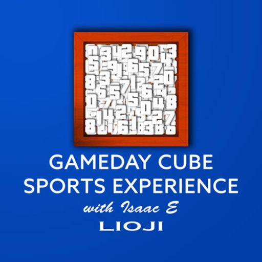 Cover art for podcast Gameday Cube Sports Experience with Isaac E