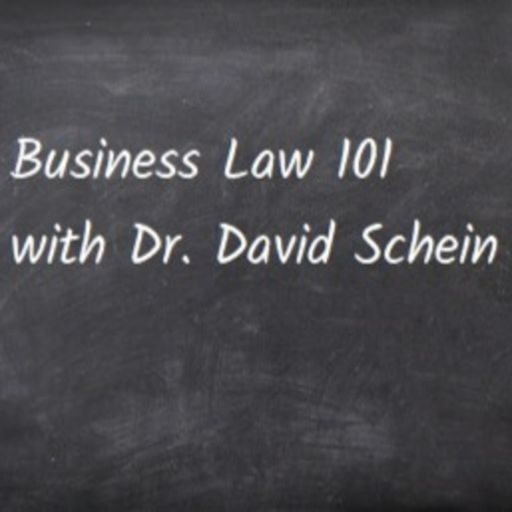 Cover art for podcast Business Law 101