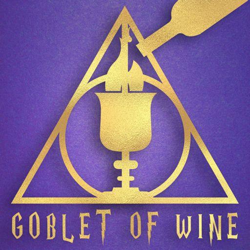 Cover art for podcast Goblet Of Wine: A Drunken British Harry Potter Podcast