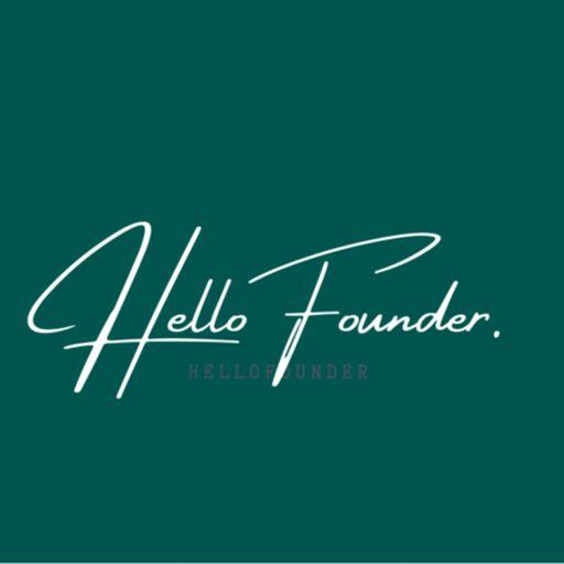 Cover art for podcast HelloFounder