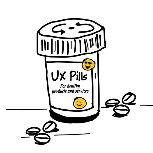 Cover art for podcast UX Pills