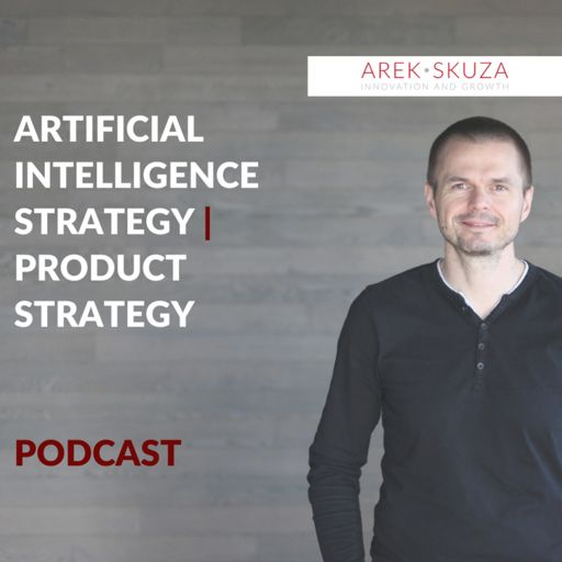 Cover art for podcast Artificial Intelligence and Product Strategy podcast.