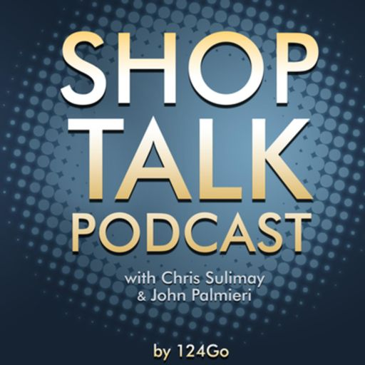 Cover art for podcast Shop Talk a podcast for the beauty industry, hairstylists and hair-salon owners. By 124 Go