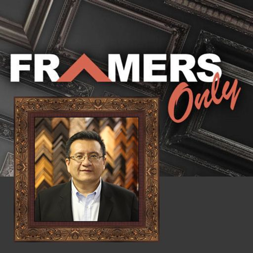 Cover art for podcast Framers Only for picture framers