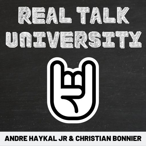 Cover art for podcast Real Talk University: Exploring Success Stories Outside of The Classroom