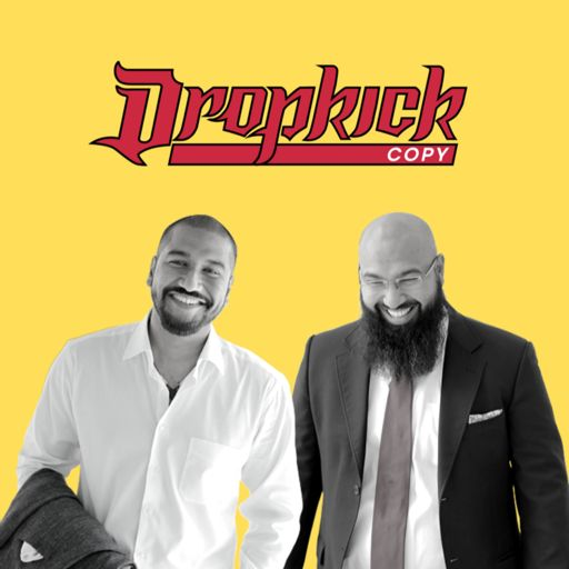 Cover art for podcast Dropkick Copy Show