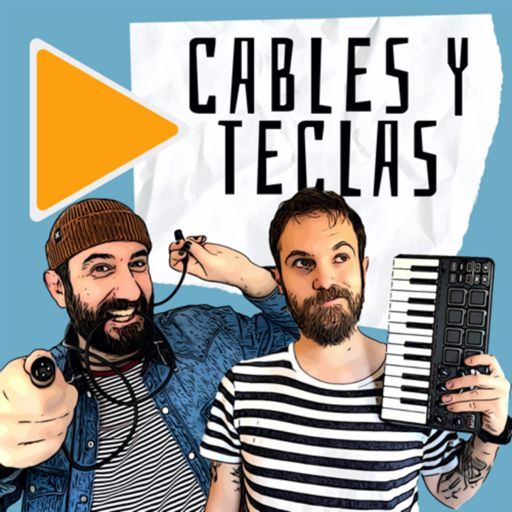 Cover art for podcast Cables y Teclas