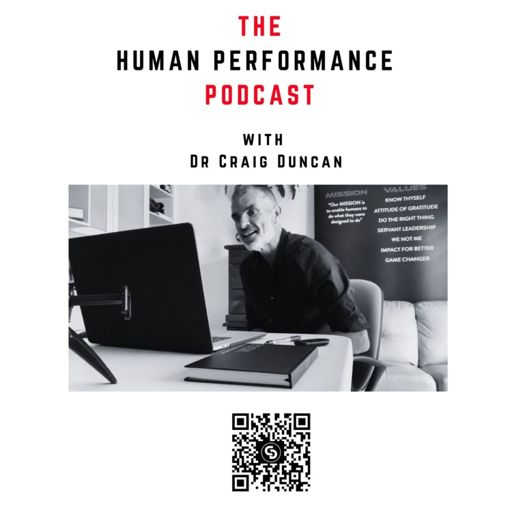 Cover art for podcast The Human Performance Podcast with Dr Craig Duncan
