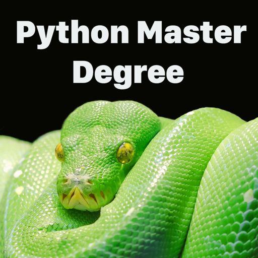 Cover art for podcast Python Master Degree