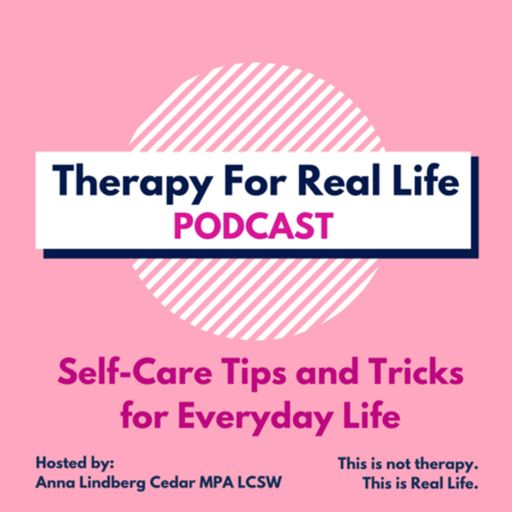 Cover art for podcast Therapy For Real Life Podcast